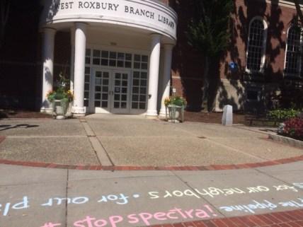 Aug. 4, 2016. West Roxbury public library.