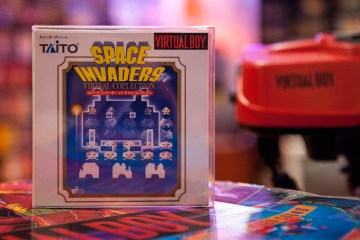 Space Invaders - Virtual Boy