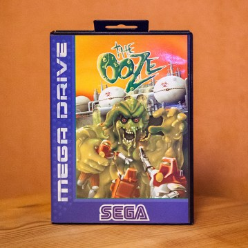 The Ooze for Sega Mega Drive