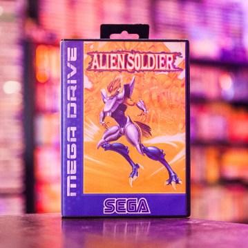 Alien Soldier - Sega Mega Drive