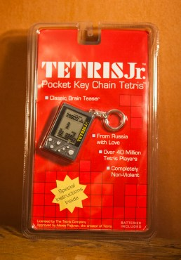 Tetris Jr Pocket Key Chain Tetris sealed