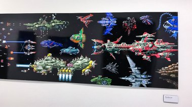 Gaming art at Stockholm's game museum