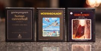 Human Cannonball, Wüstenschlacht and Sorcerer - Atari 2600