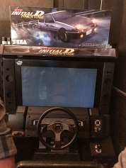 Racing arcade machine