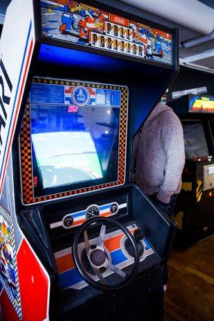 Pole Position arcade cabinet