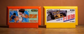 Captain Tsubasa and F-1 Hero for Famicom