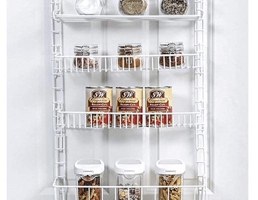 over door adjustable pantry organizer