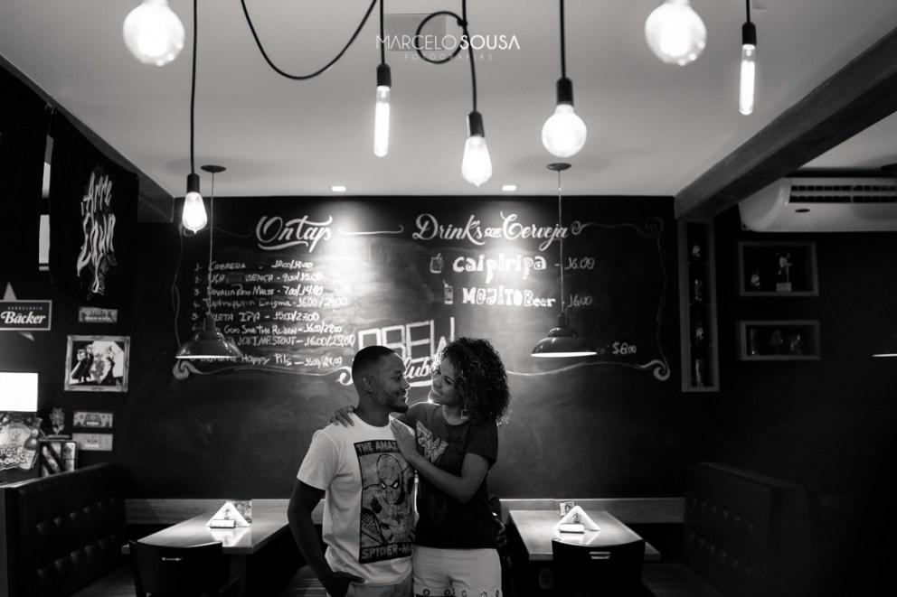 casal no bar calles em Aracaju