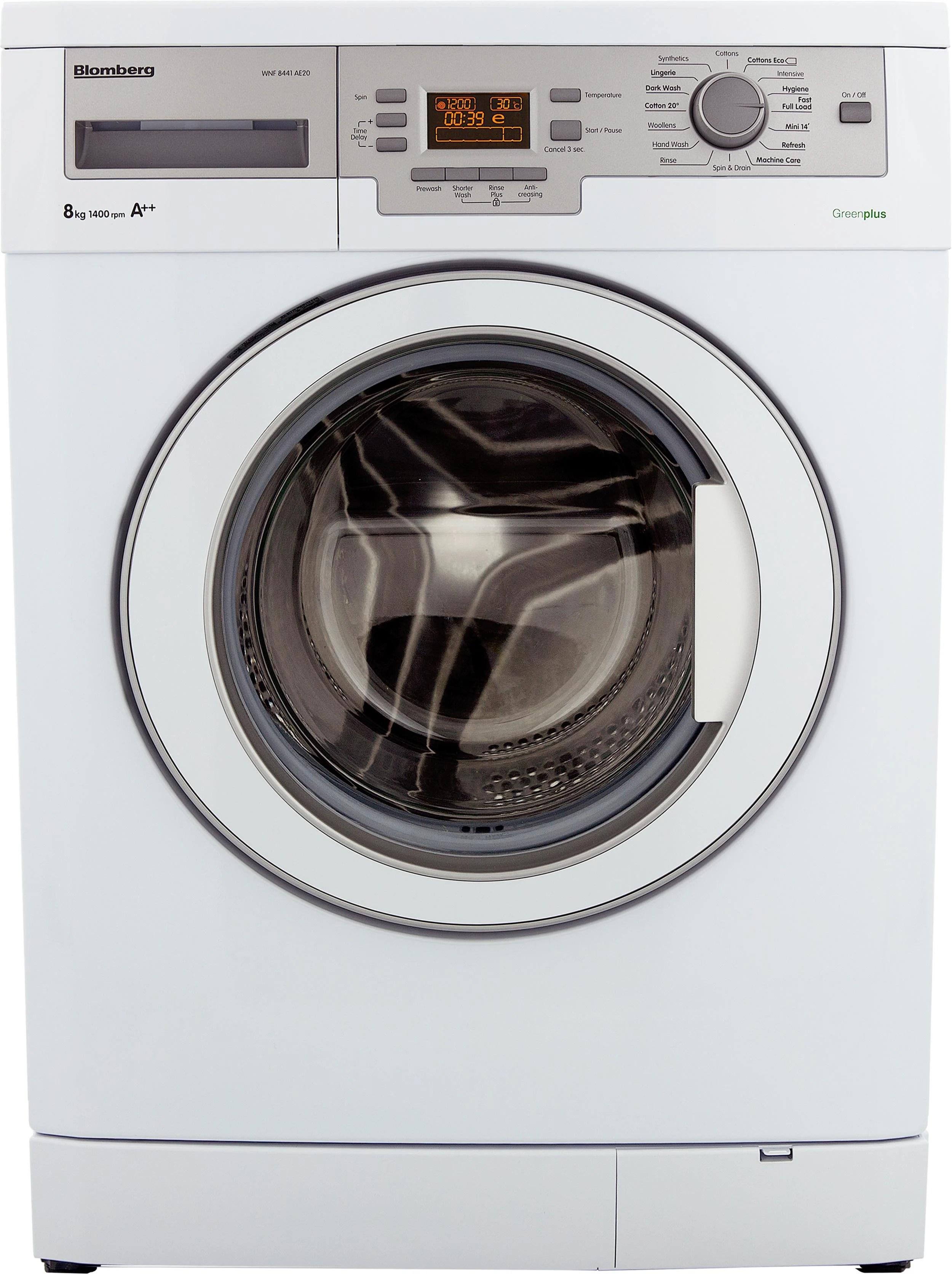 WNF8441AE20 8kg 1400rpm Washing Machine with A++ Energy Rating on Washing Machine  id=97591