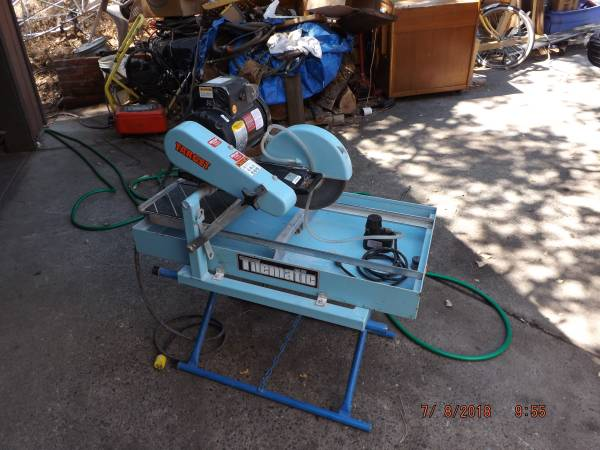 target 10 commerical wet tile saw