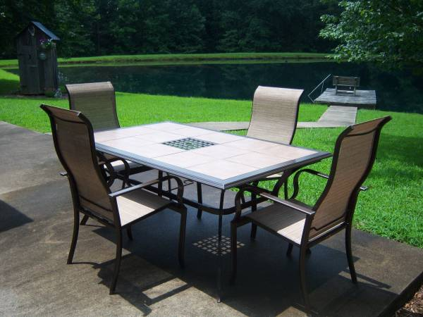 martha stewart tile top patio table 4
