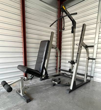 nautilus bench squat rack for sale