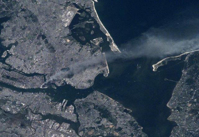 Satelitske snimke New Yorka tijekom terorističkog napada 11. rujna - 18 godina od najvećeg terorističkog napada u povijesti čovječanstva