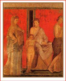 fresque de Pompeï