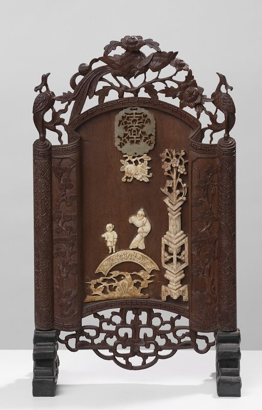 Ecran de table, Vietnam, 19°-20° siècle