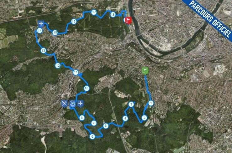 ecotrail parcours