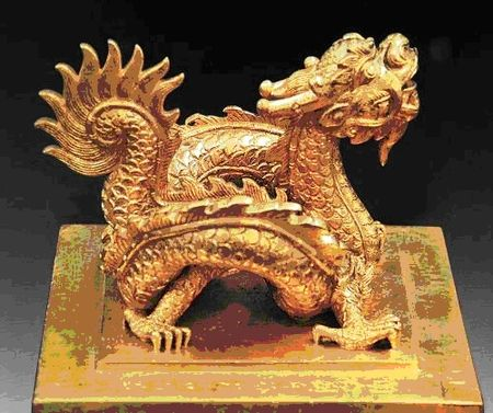 Asian Antiques Antiques 126cm Natural Jade Carving Wealth Nine Dragon Loong Dragons Bead Animal Statue An Indispensable Sovereign Remedy For Home