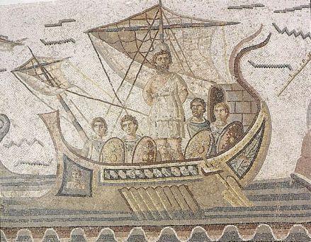 Dans l'Odyssée, Ulysse après avoir résisté au chant des sirènes (en s'attachant au mat de son bâteau), passera par le détroit de Messine.