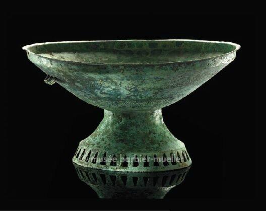Coupe à pied, Vietnam, culture de Dông Son, Début de la période Nam Viêt ou Giao Chi ( IIe siècle avant J