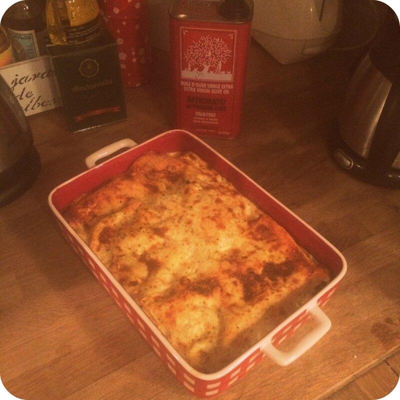 Lasagne ricotta épinard pic