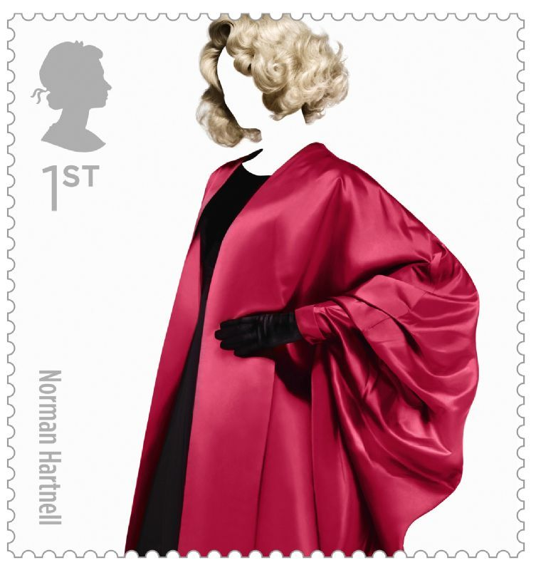 Fashion Stamps Norman Hartnell