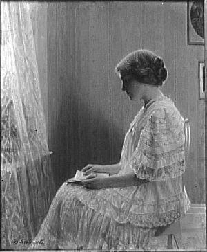 liseuse de Leempoels josef 1867-1935