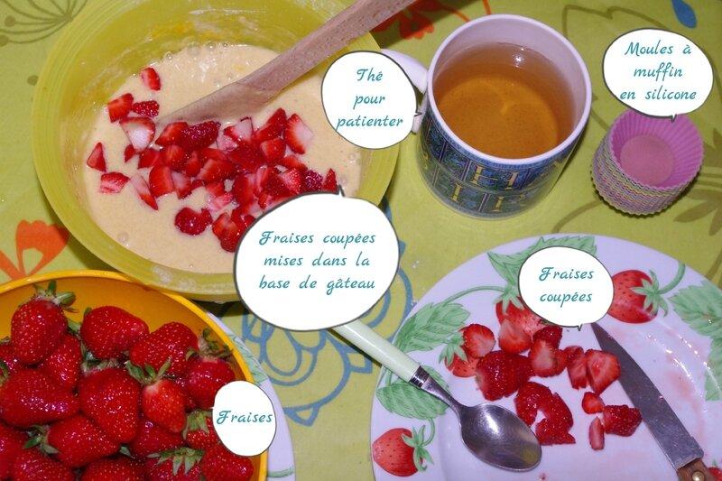 Muffins Fraises - MaBoîteàBricoles (3)