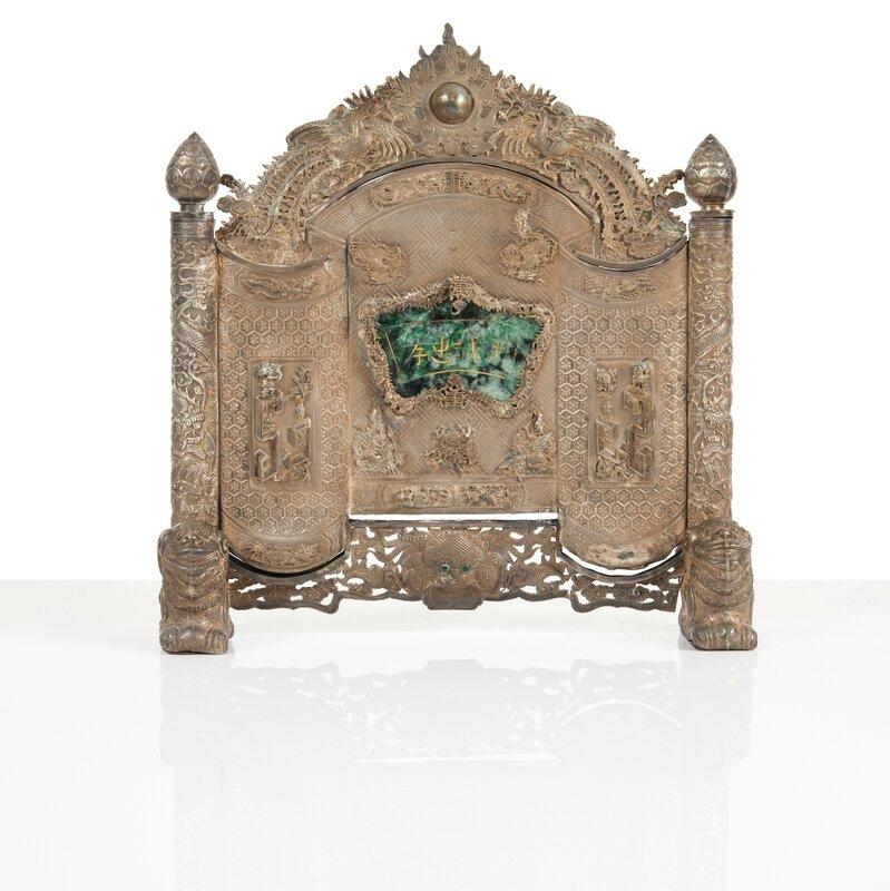 Petit paravent de table, Vietnam, Période Minh Mạng (1820 - 1841)