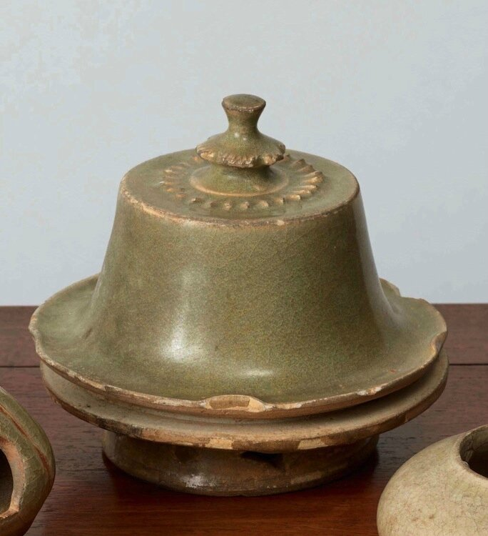 Boite à offrandes, Vietnam, dynastie des Trần, 13-14° siècles