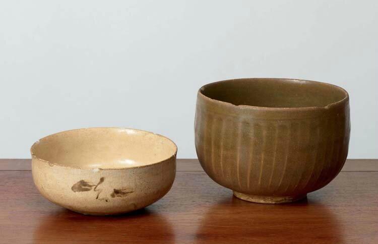 Deux coupes, Vietnam, dynastie des Trần, 13°-14° siècle