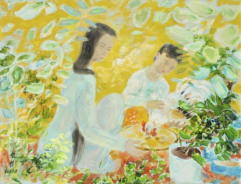 Lê Phổ (1907-2001), Avant le combat