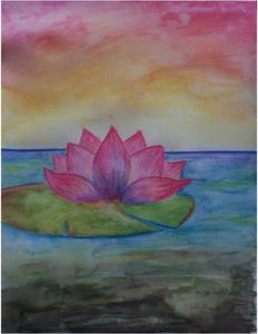 Watercolour_Lotus