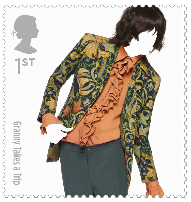 Fashion Stamps Granny Takes A Trip