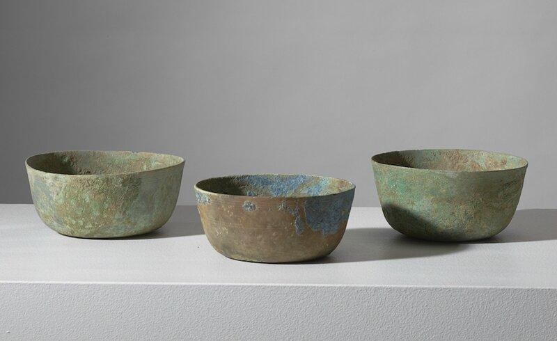 Trois bols, Vietnam, période Hán Việt, 111 BCE – 603 CE