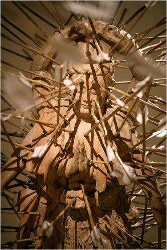 "Detail of ""The Age of Not Believing in God"" (1999)"