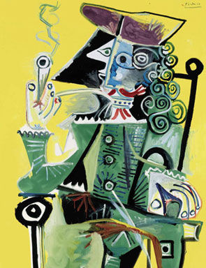 Works By Picasso And Giacometti Lead Christies Sale Of