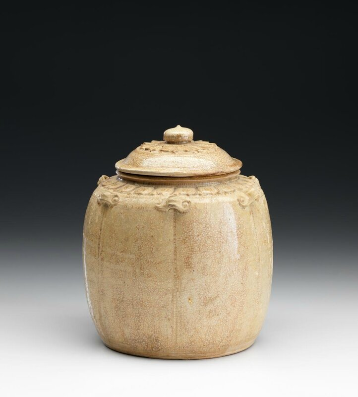 Covered jar, Vietnam, 11th century-12th century