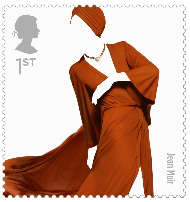 Fashion Stamps Jean Muir