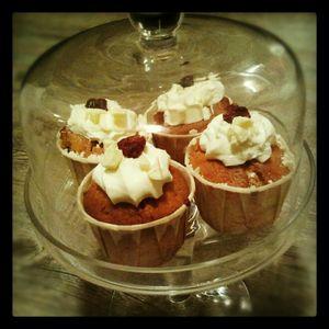 cup cake choco cramberries