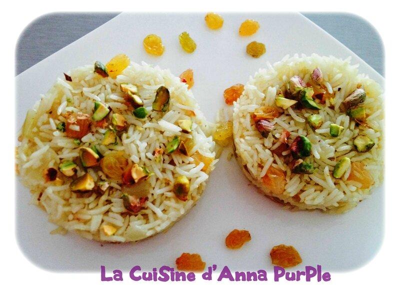 riz pilaf pistaches et raisins secs blonds 3 - LA CUISINE DANNA PURPLE (2)