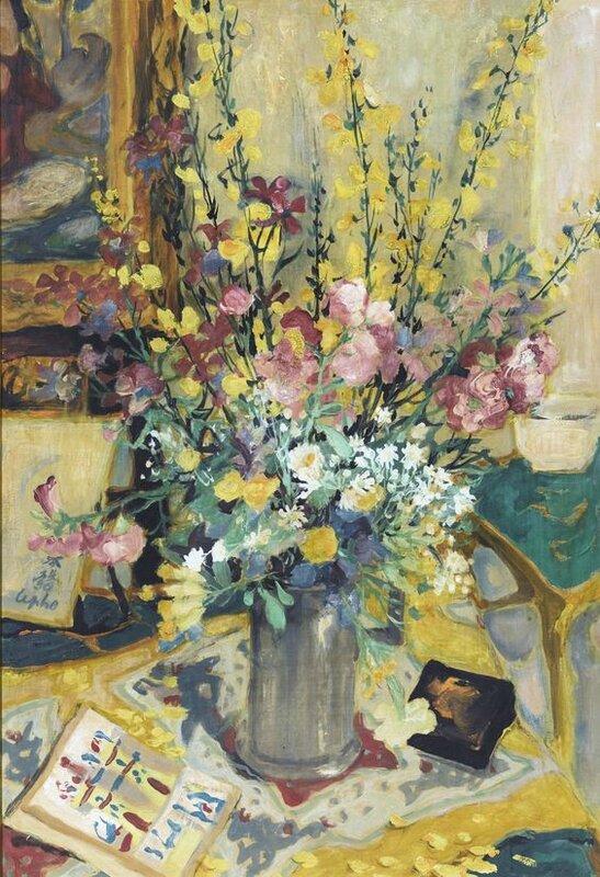 Lê Phổ (1907-2001), Bouquet champêtre (Country Bouquet)