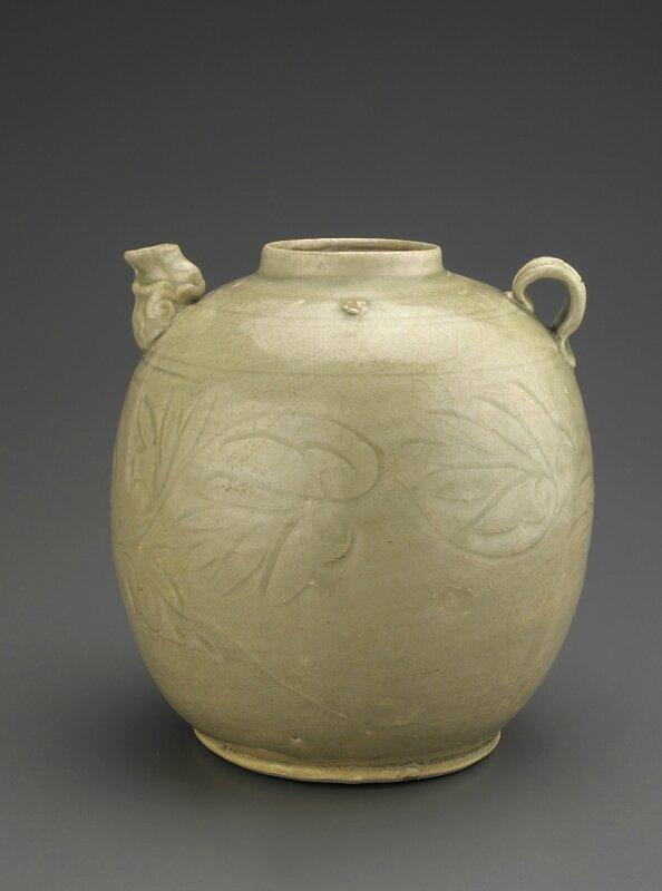 Ewer, Vietnam, Trần dynasty, 14th century