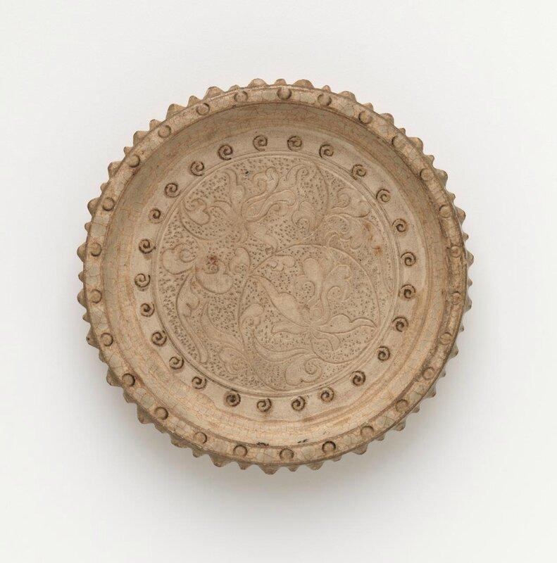 Inkstone, Vietnam, 11th century-13th century, earthenware, glaze, 2