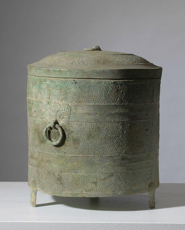 Exceptionnel tripode lian, Vietnam, période Hán Việt, 111 BCE – 603 CE