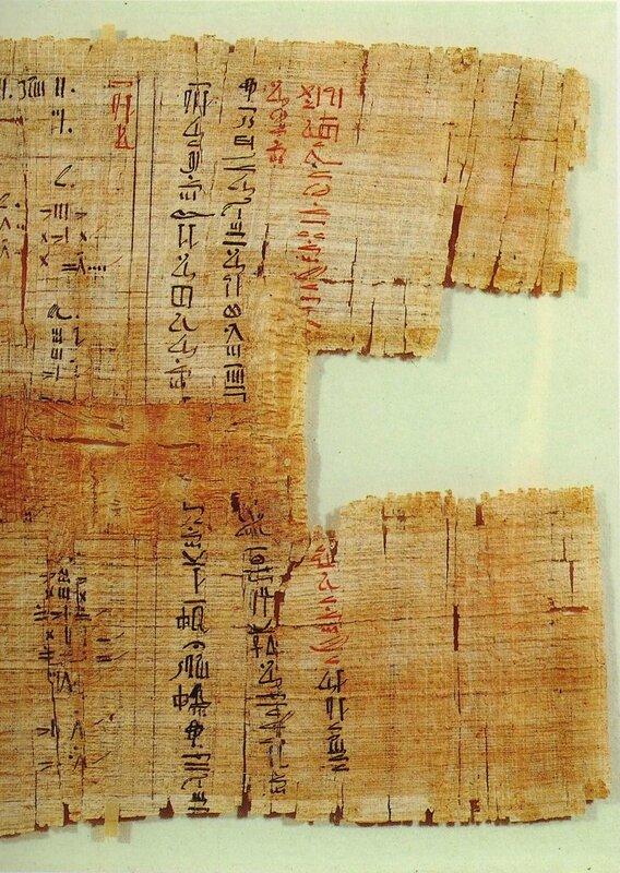 Les mathématiques égyptiennes à travers le papyrus de Rhind d'après P. K. ADJAMAGBO (2/3)