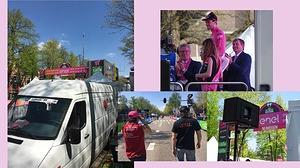 B's Sound verzorgt geluid Giro D'Italia