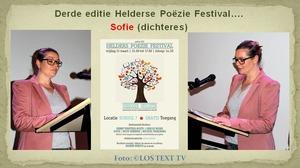 Wethouder cultuur opende Poëzie Festival