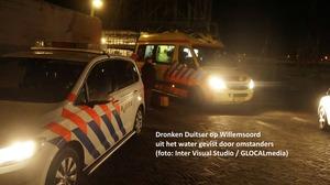 Dronken Duitser uit water gered