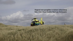 Ongeval met paraglider