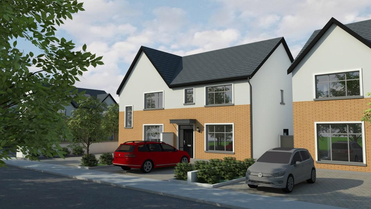 B1 – HOUSE TYPE – 3 Bed Semi, 'Janeville', Carrigaline, Co. Cork